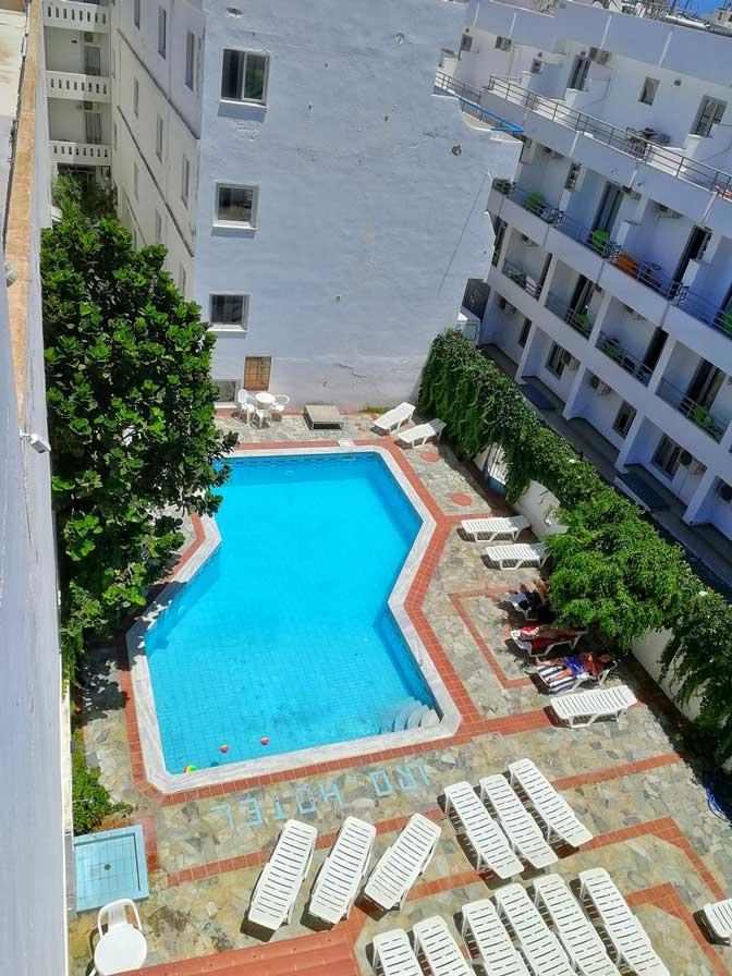 Thalia deco city and beach hotel pool