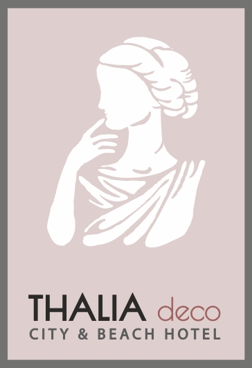 Thalia deco hotel pink logo