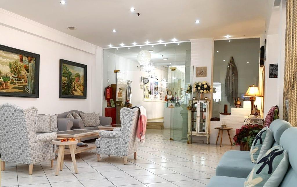 Thalia hotel in chersonissos common area